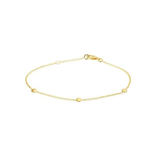Huiscollectie 14krt Geelgouden Armband 19 cm