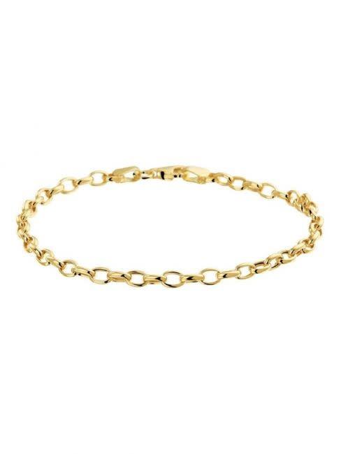 kasius 14krt Geelgouden Armband 18,5cm