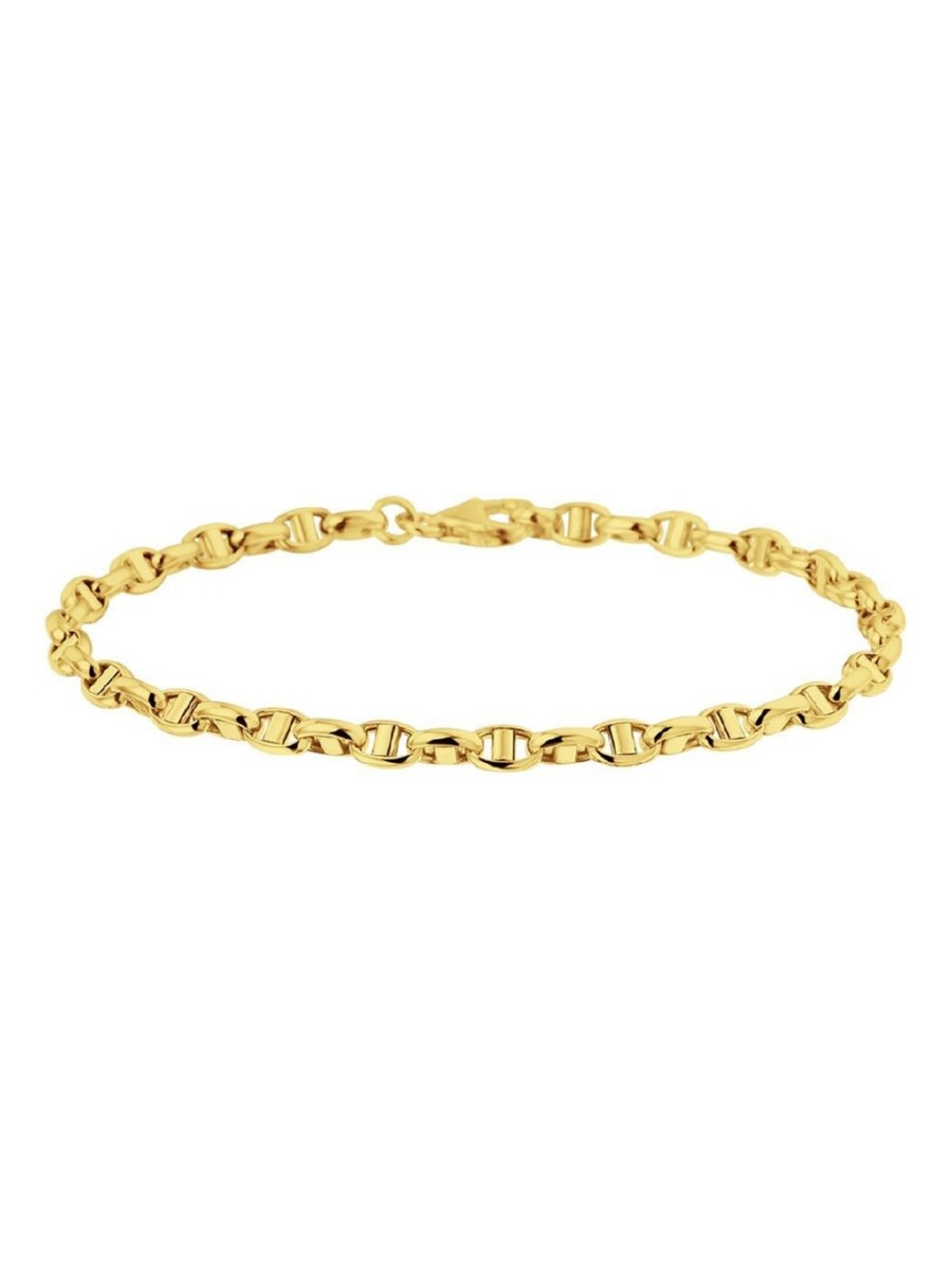 Huiscollectie 14krt Geelgouden Armband 18.5cm