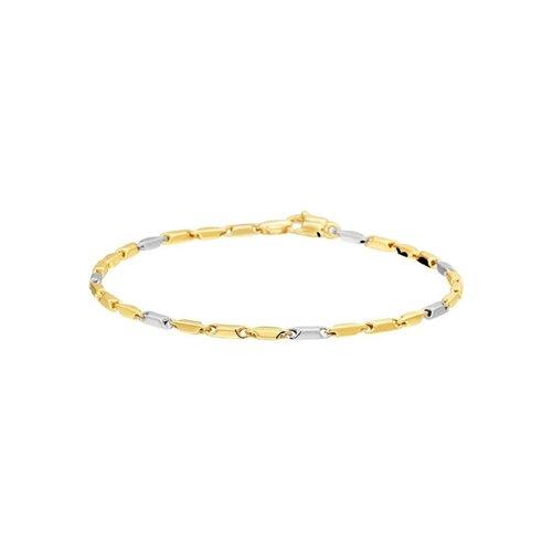 Huiscollectie vDam 14krt Geelgouden Armband 19.5cm | Juwelier van Dam