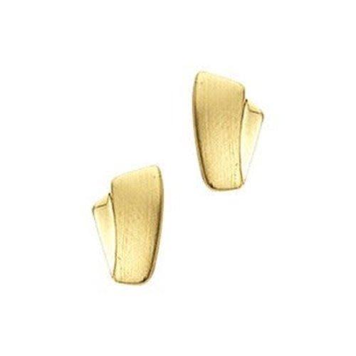 Huiscollectie 14krt Geelgouden Oorknoppen 8mm