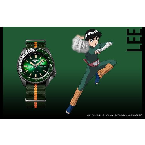 Seiko Global Brands Seiko 5 Sports x Rock Lee SRPF73