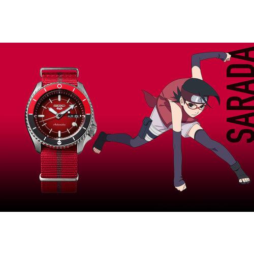 Seiko Global Brands Seiko 5 Sports x Boruto Sarada Uchiha SRPF67