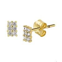 Gouden oorknoppen 4018290