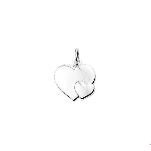 Huiscollectie vDam Zilveren Hanger Hart
