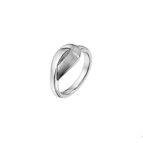 Huiscollectie vDam Zilveren Ring Mat