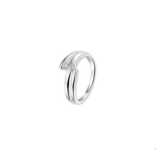 Huiscollectie vDam Zilveren Ring Zirkonia