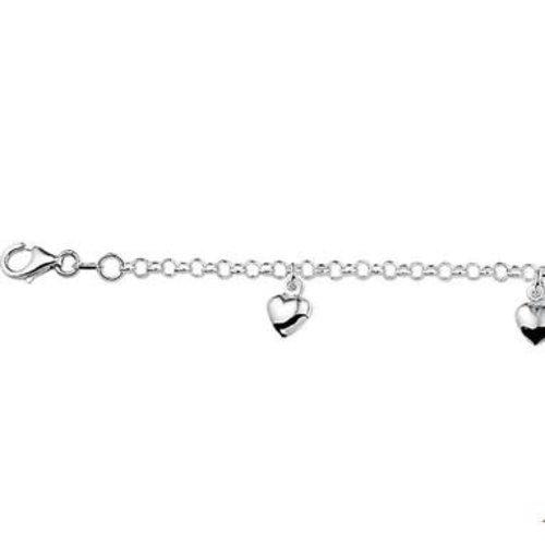 Huiscollectie Zilveren kinder armband 1322942