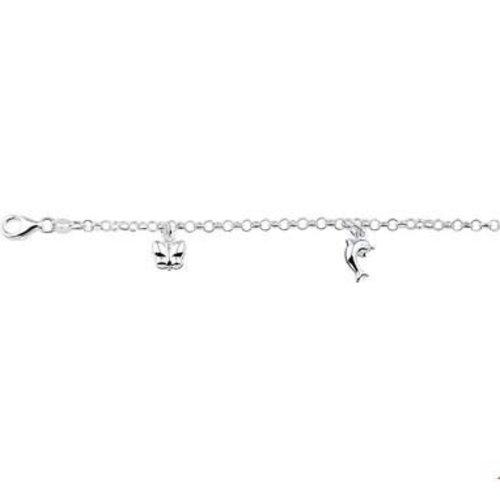 Huiscollectie Zilveren kinder armband 1322946