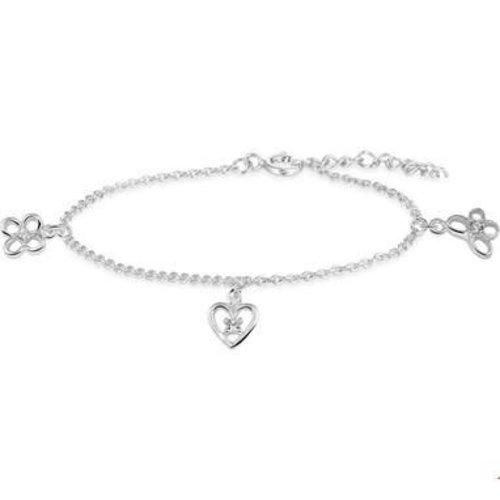 Huiscollectie Zilveren kinder armband 1321793
