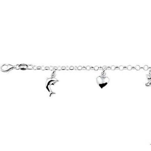 Huiscollectie Zilveren kinder armband 1322951
