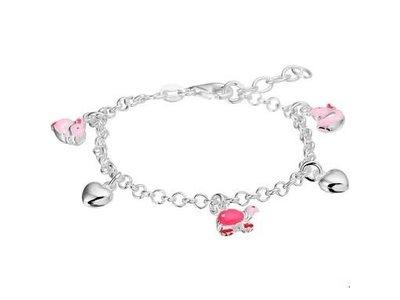 Huiscollectie Zilveren kinder armband 1322954