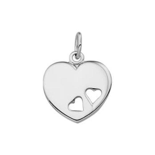 Huiscollectie vDam zilveren hanger hart 1324611