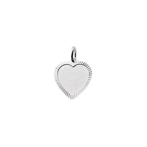 Huiscollectie vDam zilveren hanger hart 1323354