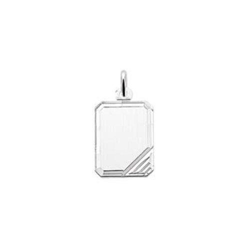 Huiscollectie vDam zilveren hanger rechthoek 1323326