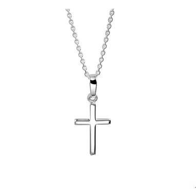 Huiscollectie vDam zilveren ketting kruis 1322795