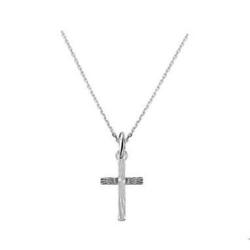 Huiscollectie vDam zilveren ketting kruis 1322799