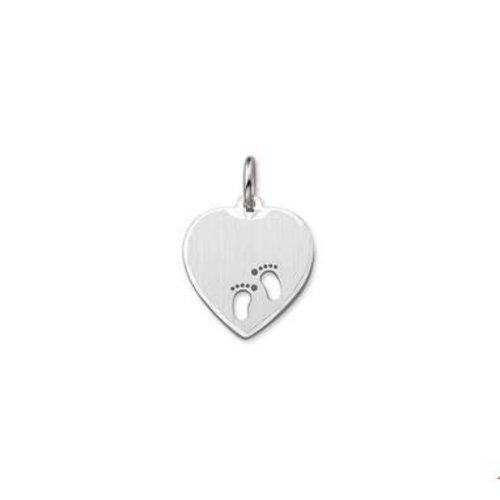 Huiscollectie vDam zilveren hanger hart 1323248
