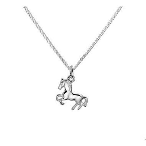 Huiscollectie vDam Zilveren Paarden Ketting 1322860