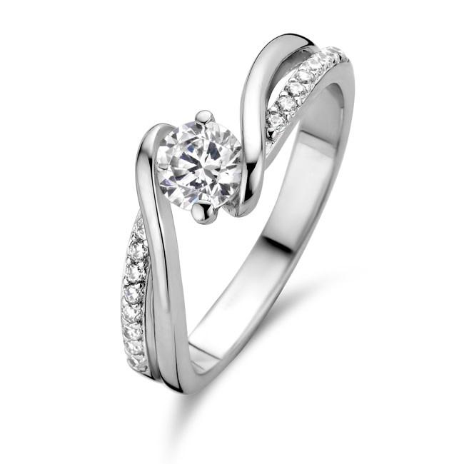 Rosa Di Luca Zilveren ring 629.633.54