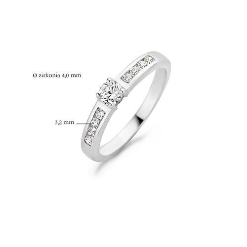 Blush Blush Witgouden Ring 1125WZI/54