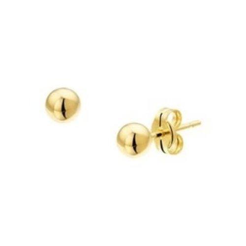 Huiscollectie Gouden oorknop 3mm 4008748