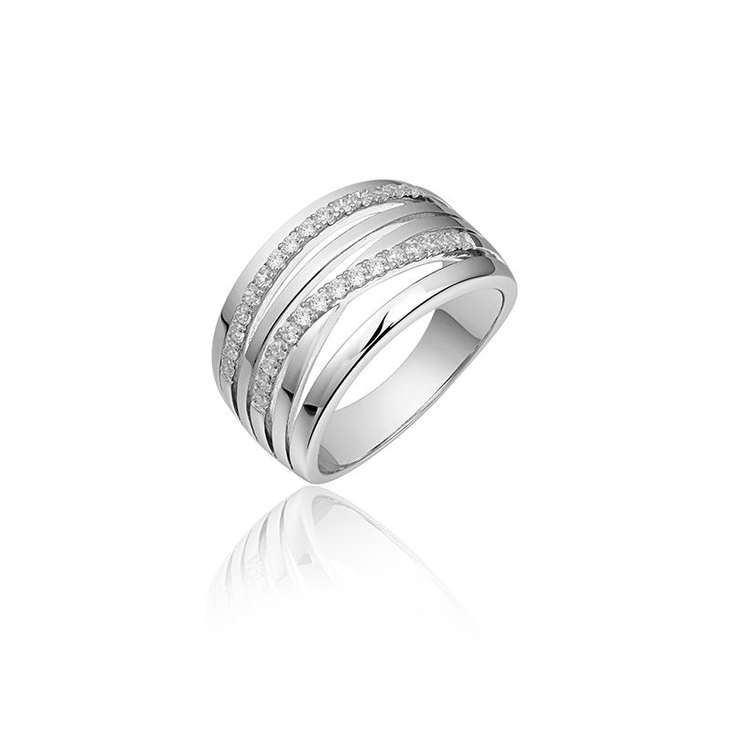vDam Zilveren ring R055