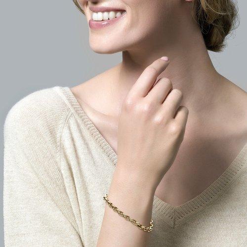 Blush 14 krt Geelgouden Blush Armband 2162YGO