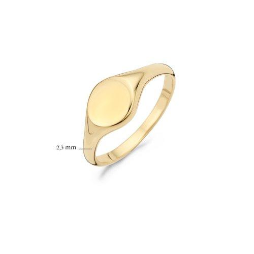 Blush 14 krt Geelgouden Blush Ring 1191YGO/52