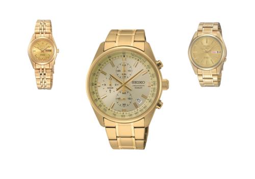 Goudkleurige Horloges