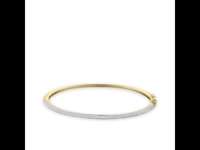 Huiscollectie Gouden armband spang VGB005