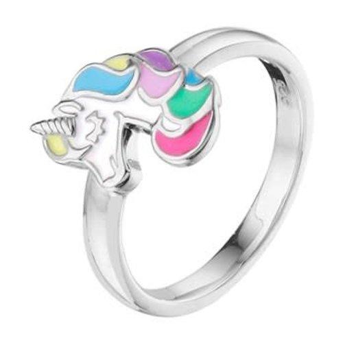 Huiscollectie vDam Zilveren Ring Eernhoorn Maat 15 1332792