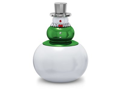 Swarovski Holiday Cheers Snoeppot Sneeuwpop