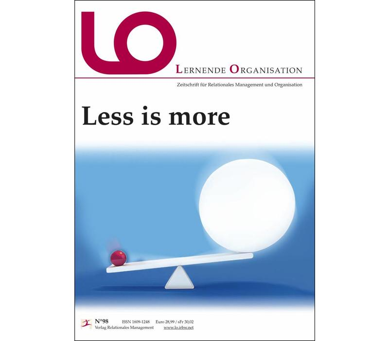 LO 98: Less is more (PDF/Print)
