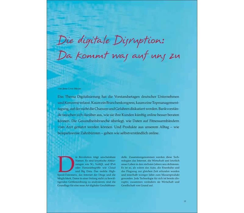 Die digitale Disruption: Da kommt was auf uns zu