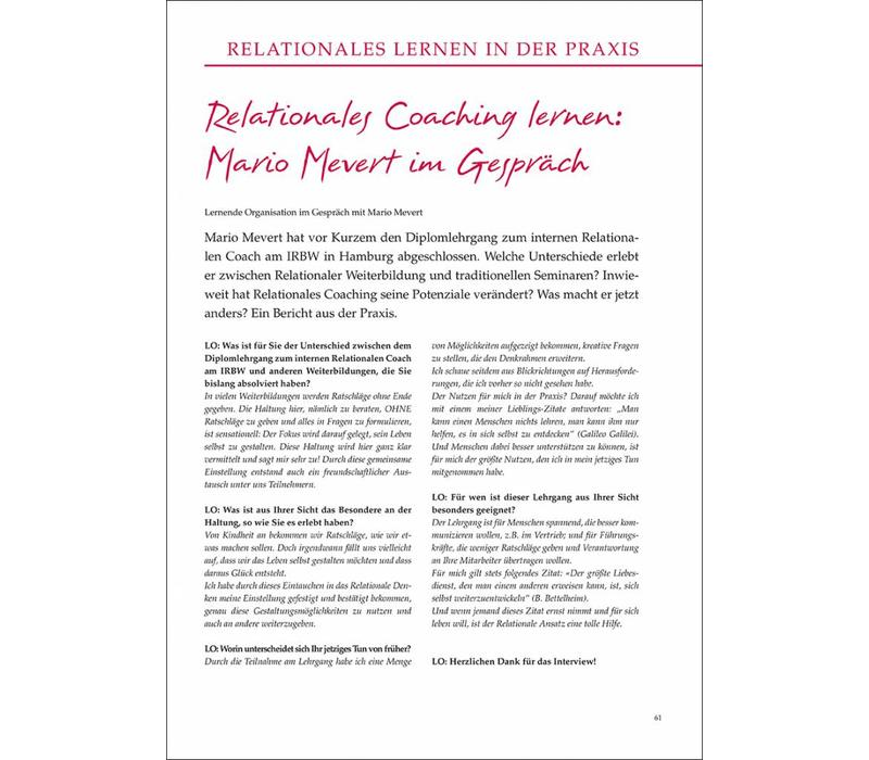 Relationales Coaching lernen: Mario Mevert im Gespräch