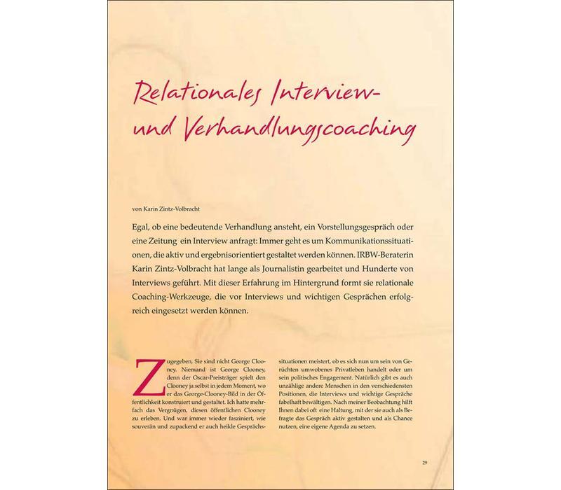 Relationales Interview und Verhandlungscoaching