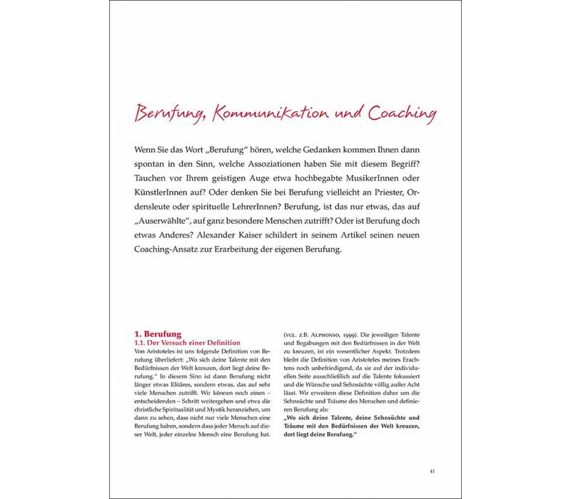 Berufung, Kommunikation und Coaching