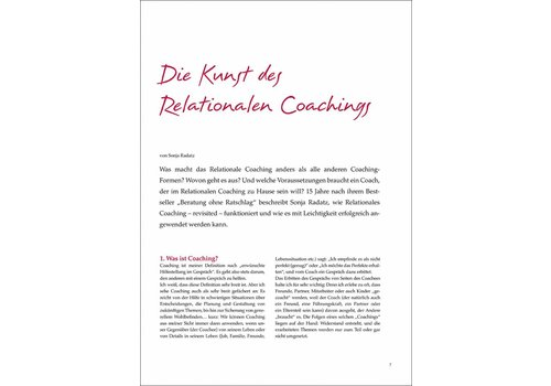 Die Kunst des Relationalen Coachings