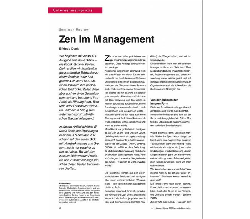 Zen im Management
