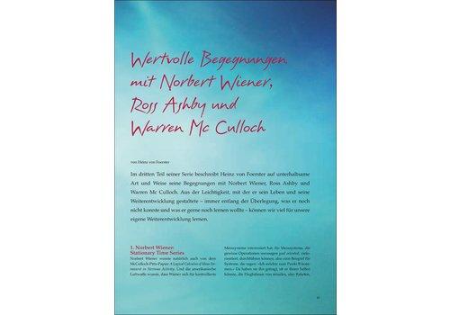 Wertvolle Begegnungen mit Norbert Wiener, Ross Ashby und Warren Mc Culloch