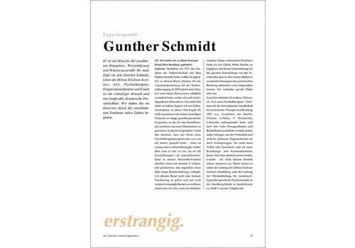 Expertenprofil: Gunther Schmidt