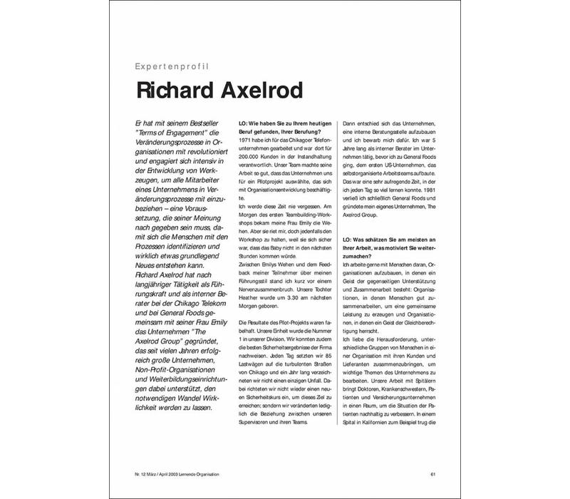 Richard Axelrod