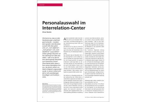Personalauswahl im Interrelation-Center
