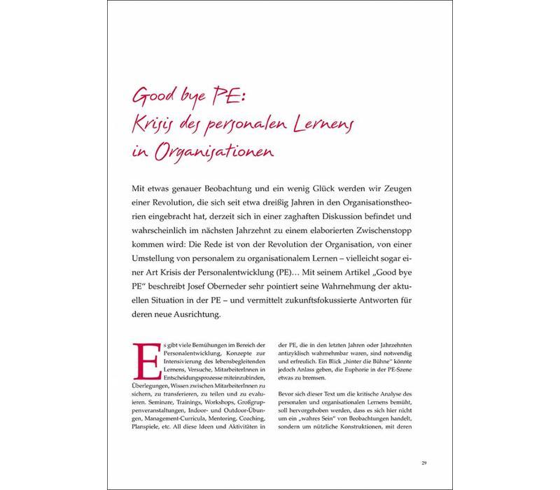 Good bye PE: Krisis des personalen Lernens in Organisationen