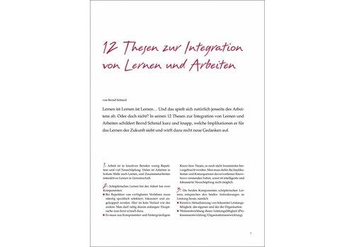 12 Thesen zur Integration von Lernen und Arbeiten