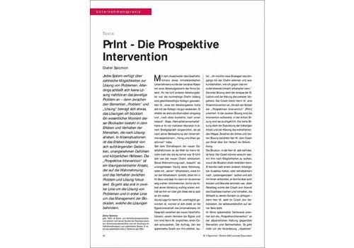 PrInt - Die Prospektive Intervention