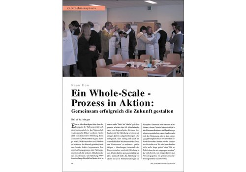 Ein Whole-Scale-Prozess in Aktion