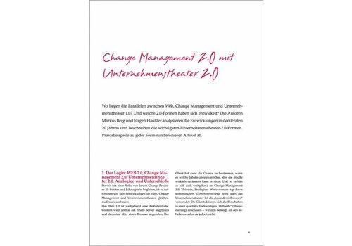 Change Management 2.0 mit Unternehmenstheater 2.0