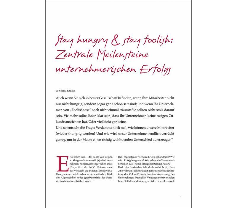 Stay hungry & stay foolish: Zentrale Meilensteine unternehmerischen Erfolgs